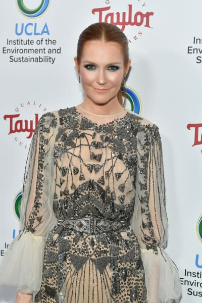 Darby Stanchfield attends UCLA's 2018 Institute of the Environment and Sustainability Gala