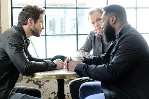 Handsome Trio  - The Resident Season 3 Episode 13