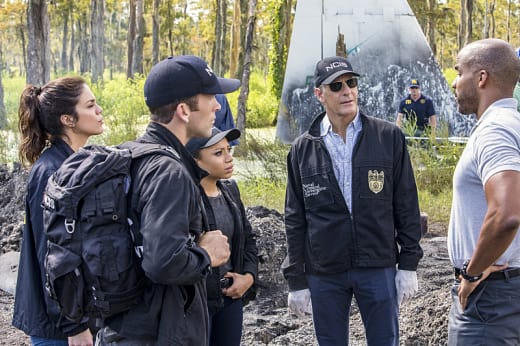 Plane Crash in the Bayou - NCIS: New Orleans