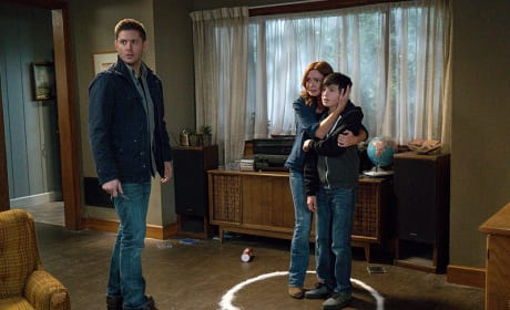 Stay in the circle! - Supernatural Season 11 Episode 7