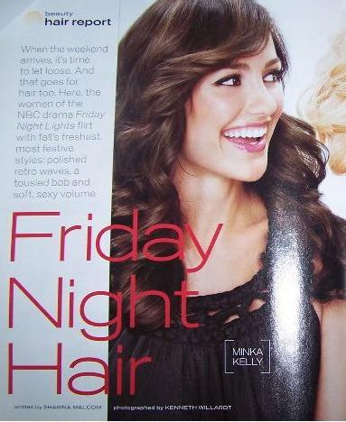 Friday Night Hair