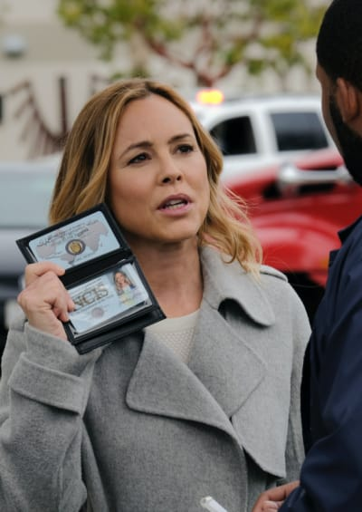 Sloane Finds Answers - NCIS