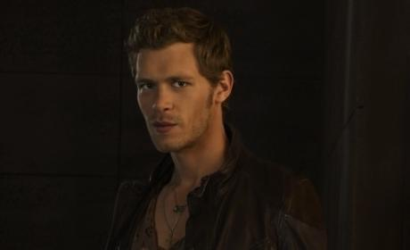 Joseph Morgan as Vampire Diaries' Klaus