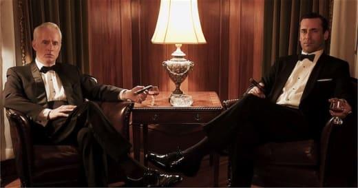 Jon Hamm and John Slattery