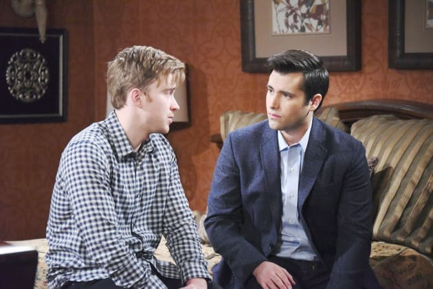 Will and Sonny Reunite - Days of Our Lives