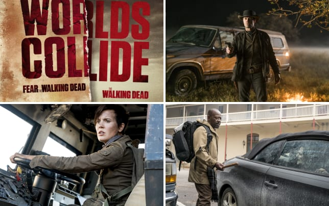 The walking dead slash fear the walking dead crossover