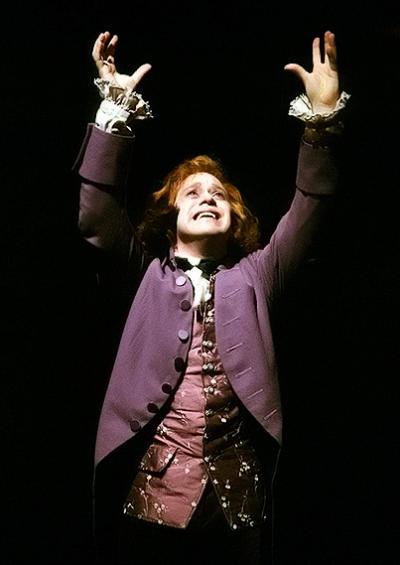 T.R. Knight as Mozart