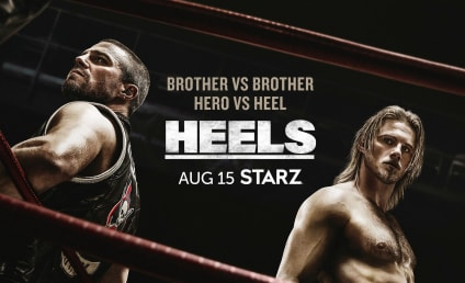 Heels: Extended Trailer for Starz Wrestling Drama Teases Shirtless Men, Brothers at War, & More!