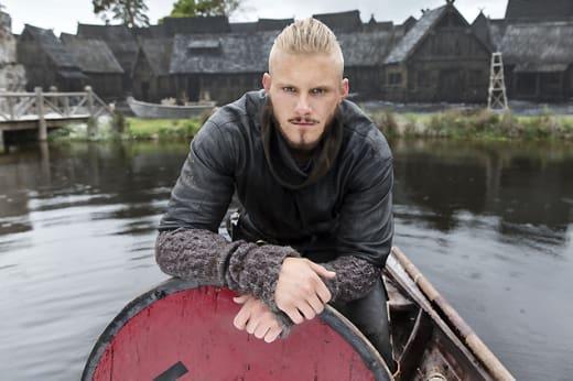 Bjorn Prepares to Lead - Vikings
