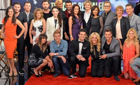 Dancing with the Stars Season 18 Cast