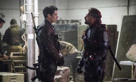 Will Joe Get A Mask - Arrow Season 6 Episode 6