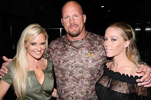 The Girls Next To Steve Austin Tv Fanatic