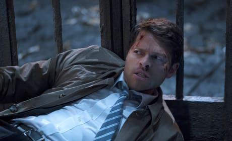 Castiel in battle - Supernatural Season 11 Episode 10
