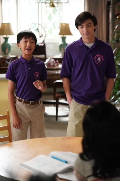 FOB- Emery and Evan - Fresh Off the Boat Season 6 Episode 2