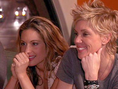 Jackie and Rebecca