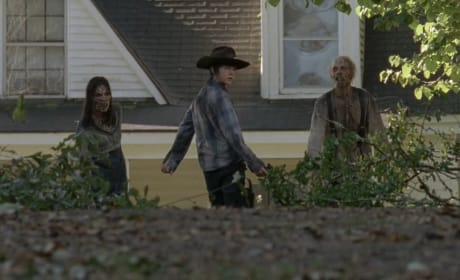 Carl Leads Trouble Away