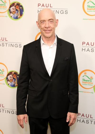 J.K. Simmons Attends Event