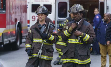 Boden And Casey - Chicago Fire Season 5 Episode 8