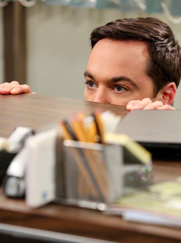 Sheldon Spying - The Big Bang Theory Season 12 Episode 23
