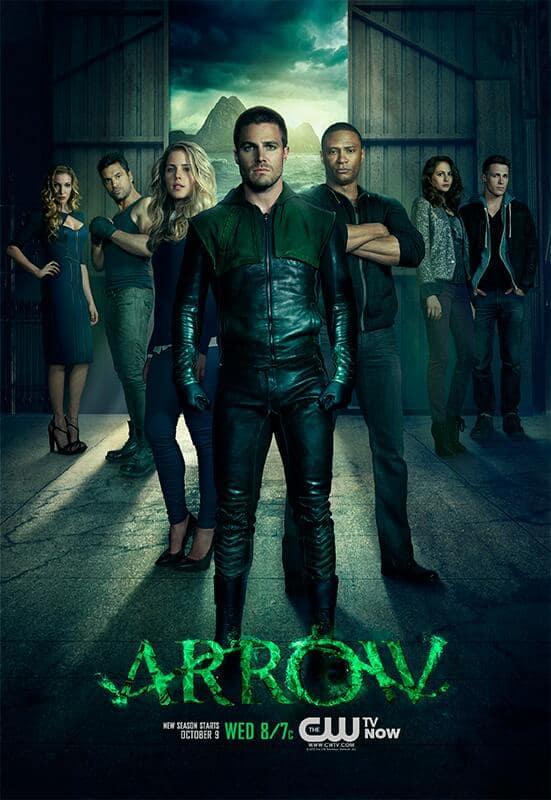 Arrow Season Two Poster