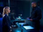 Laurel and Diggle - Arrow