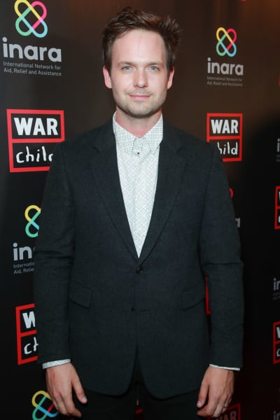 Patrick J. Adams Attends Good for a Laugh Fundraiser