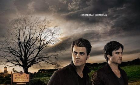 Vampire Diaries Poster - The Vampire Diaries