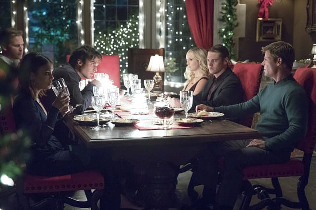 Dinner Party from Hell - The Vampire Diaries Season 8 Episode 7
