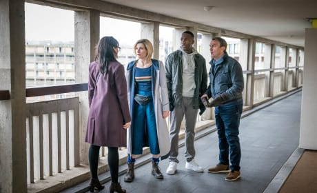 Meeting with Dr. McIntyre - Doctor Who Season 11 Episode 4