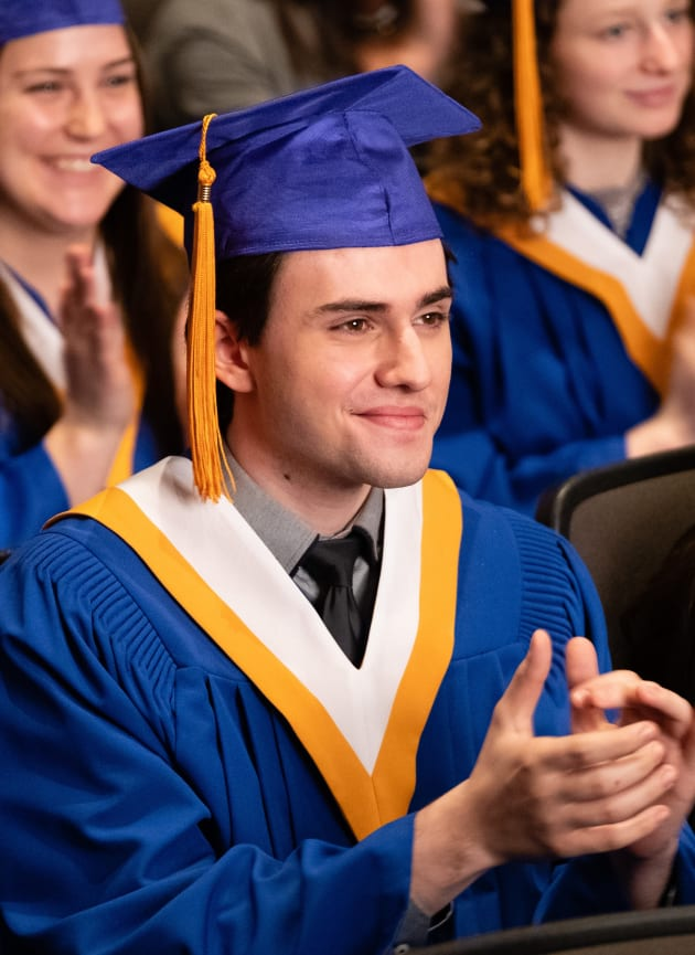 Nick Claps for Fellow Students - Good Witch Season 5 Episode 10