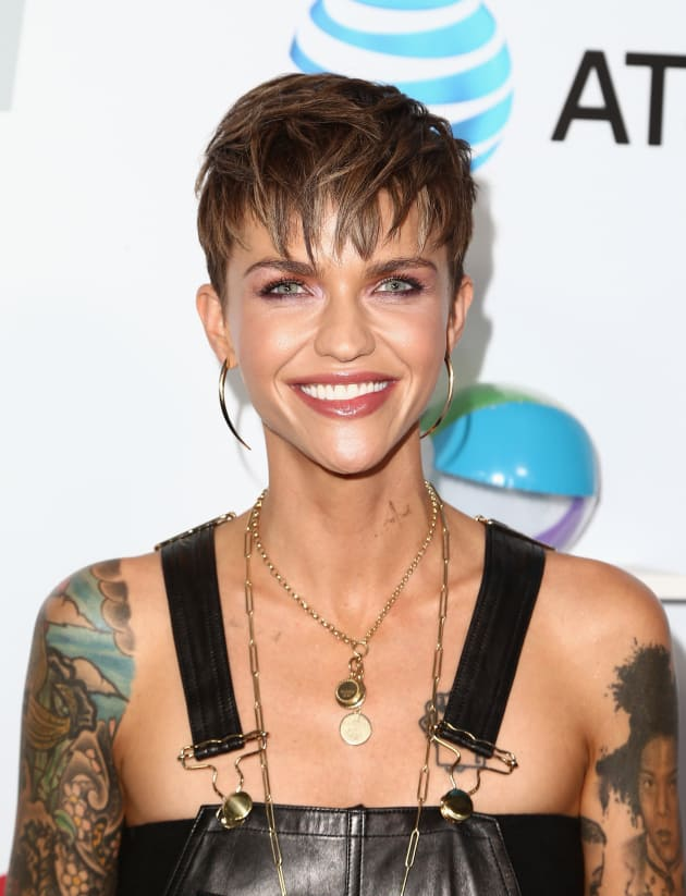 Ruby Rose Attends Event