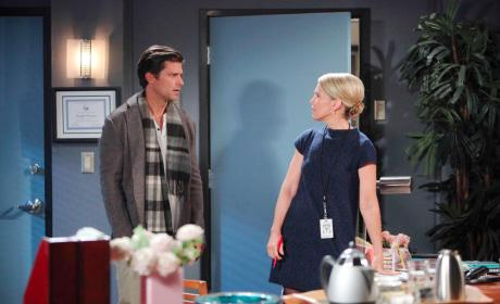 Eric Is Taken Aback - Days of Our Lives