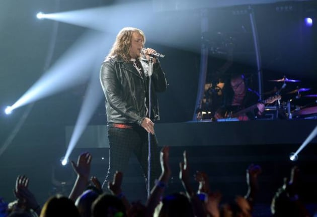 Caleb Johnson Sings the 80s