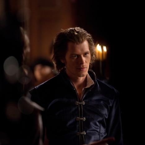 Klaus on Vampire Diaries