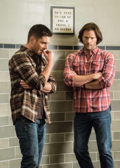Sam and Dean Think - Supernatural Season 14 Episode 7