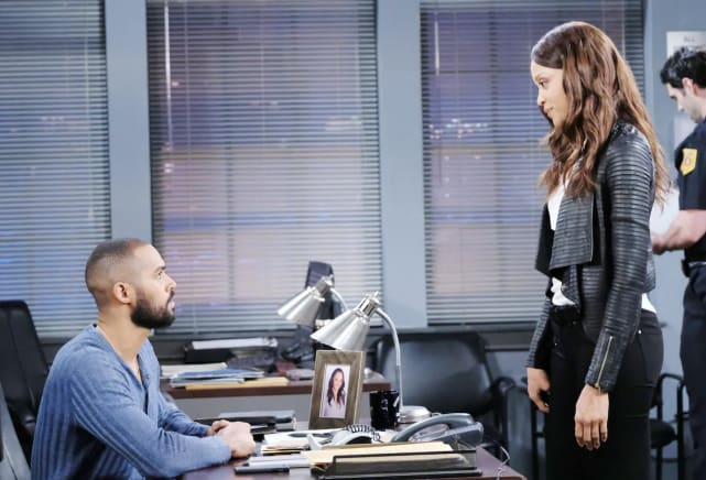 Lani tries to work things out with Eli.