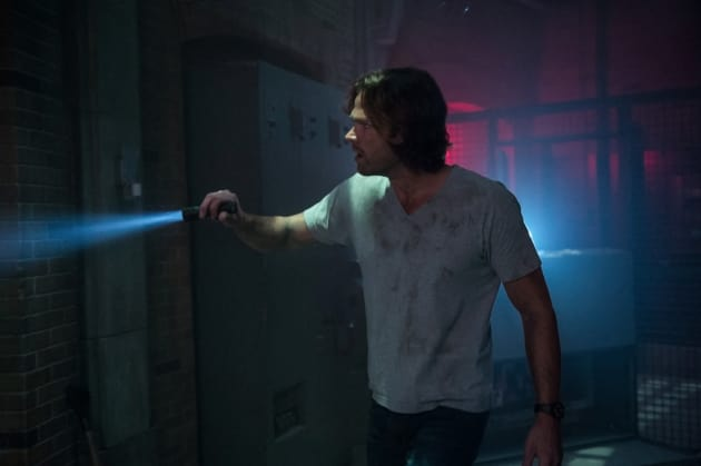 Sam searches for a way out - Supernatural Season 12 Episode 22