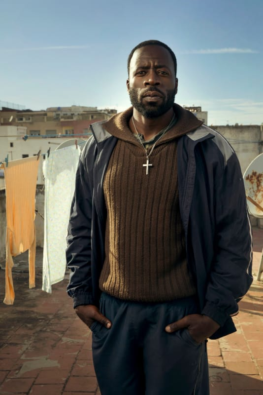 "Ezekial ""Preach"" Carter Played by Demetrius Grosse - The Brave"