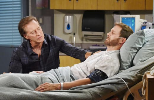 John Worries About Brady - Days of Our Lives