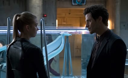 Stitchers Photos: Trouble for Kirsten and Cameron?