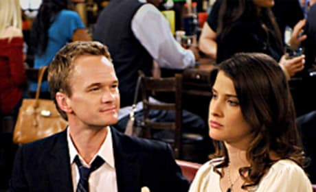 Barney and Robin Photo