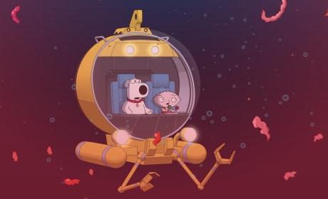 Tricking James Cameron - Family Guy Season 16 Episode 15