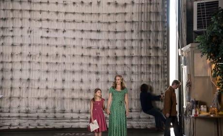 Little Girl in a Big Studio - American Woman