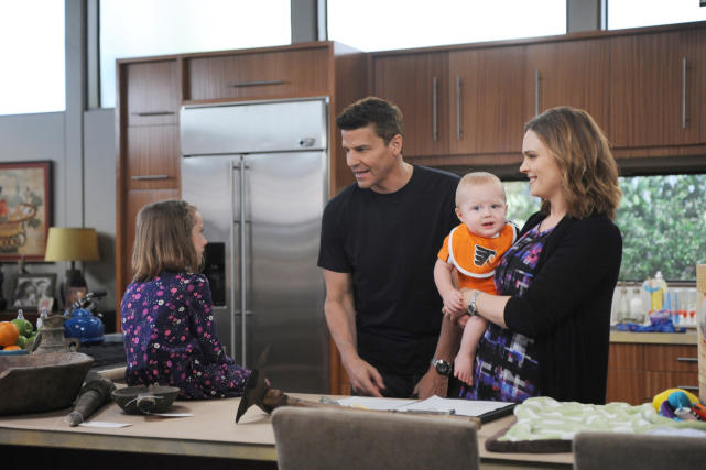 Temperance Brennan and Seeley Booth - Bones