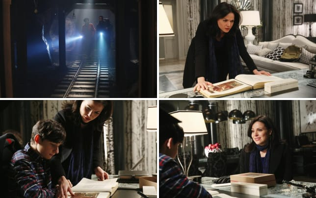 Searching the tunnels once upon a time s4e14