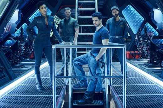 Holden's Crew - The Expanse