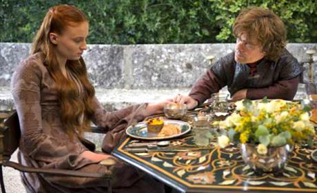 Comforting Sansa
