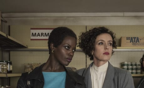 Rose and Lenora - Deutschland86 Season 2 Episode 7