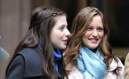 Leighton Meester, Michelle Trachtenberg Film Gossip Girl