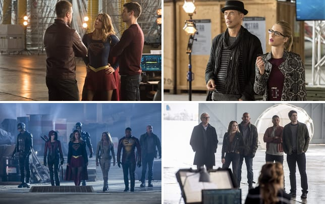 Arrow and supergirl meet the flash season 3 episode 8